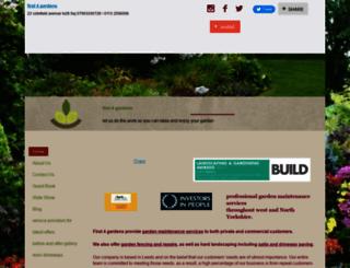 first4gardens.vpweb.co.uk screenshot