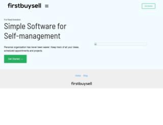 firstbuysell.com screenshot