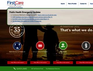 firstcare.com screenshot