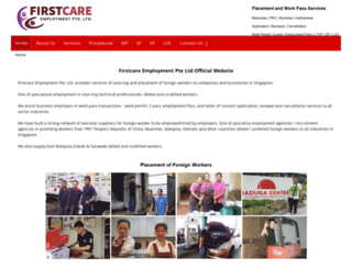 firstcare.com.sg screenshot