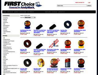 firstchoicebyandymark.com screenshot