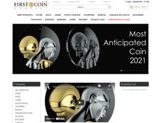firstcoincompany.com screenshot