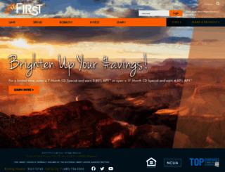 firstcu.net screenshot