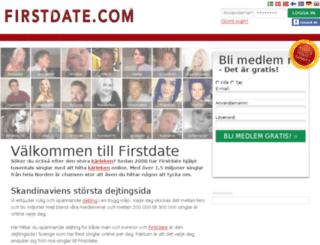 firstdate.se screenshot