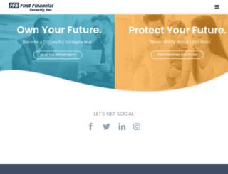 firstfinancialsecurity.com screenshot