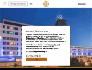 firstfloor.palace.de screenshot