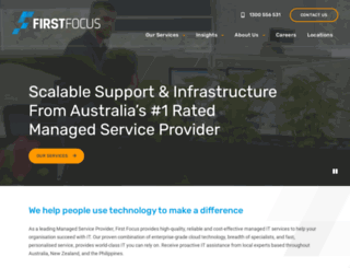 firstfocus.com.au screenshot