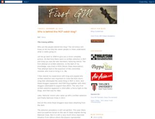 firstgm.blogspot.com screenshot