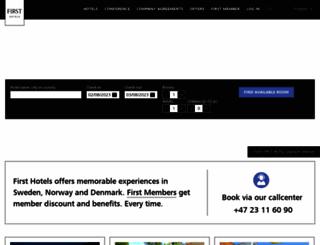 firsthotels.com screenshot