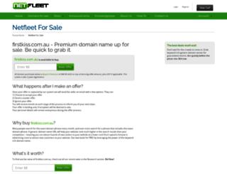 firstkiss.com.au screenshot