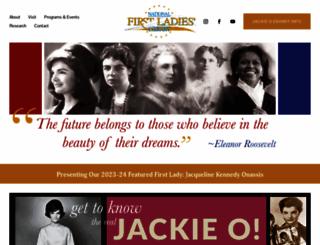firstladies.org screenshot