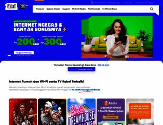 firstmedia.com screenshot