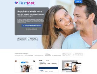 firstmet.com screenshot