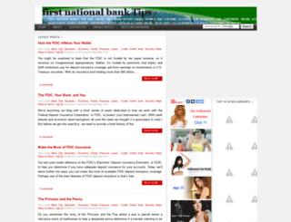 firstnationalbank.blogspot.com screenshot