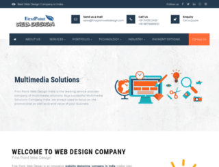 firstpointwebdesign.com screenshot