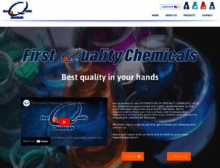 firstqualitychemicals.com screenshot