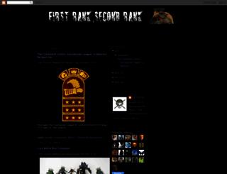 firstranksecondrank.blogspot.com screenshot