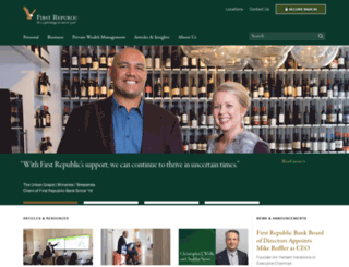 firstrepublicbank.com screenshot