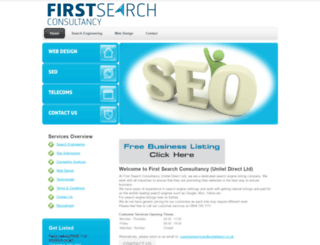firstsearchconsultancy.co.uk screenshot