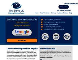 firstserveuk.co.uk screenshot