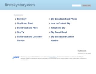firstskystory.com screenshot