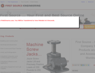 firstsourceengineering.com screenshot