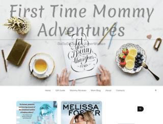 firsttimemommyadventures.com screenshot