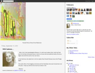 firsttumblewords.blogspot.com screenshot