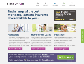 firstunion.co.uk screenshot