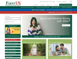 firstus.org screenshot