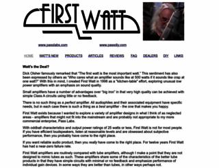 firstwatt.com screenshot