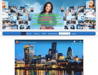 firstwebsitedesign.com screenshot