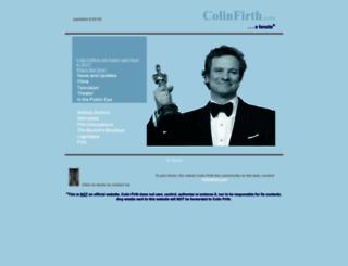 firth.com screenshot