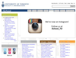 fis.utoronto.ca screenshot