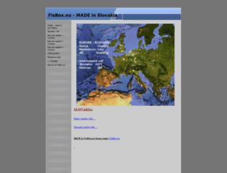 fisbox.eu screenshot