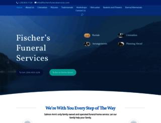 fischersfuneralservices.com screenshot