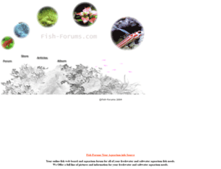 fish-forums.com screenshot