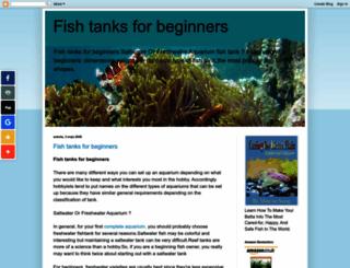 fish-tank-aquarium.blogspot.com screenshot