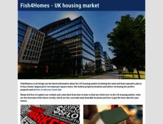 fish4homes.co.uk screenshot
