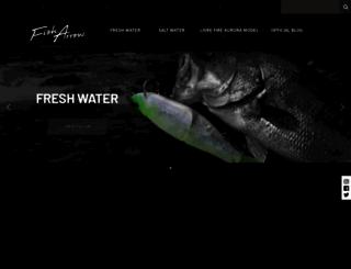 fisharrow.co.jp screenshot
