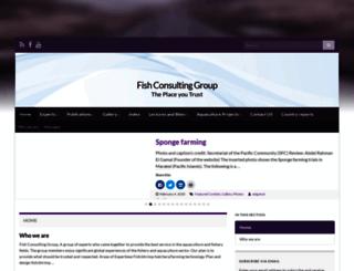 fishconsult.org screenshot