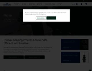 fisher.com screenshot