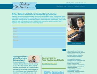 fisherstat.com screenshot