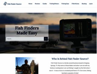 fishfindersource.com screenshot