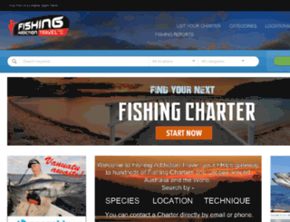 fishingaddictiontravel.com.au screenshot