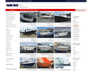 fishingboats.apolloduck.co.uk screenshot