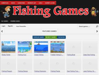 fishinggames.biz screenshot