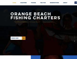 fishingorangebeach.com screenshot