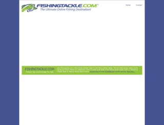 fishingtackle.com screenshot