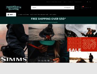 fishingtackleunlimited.com screenshot